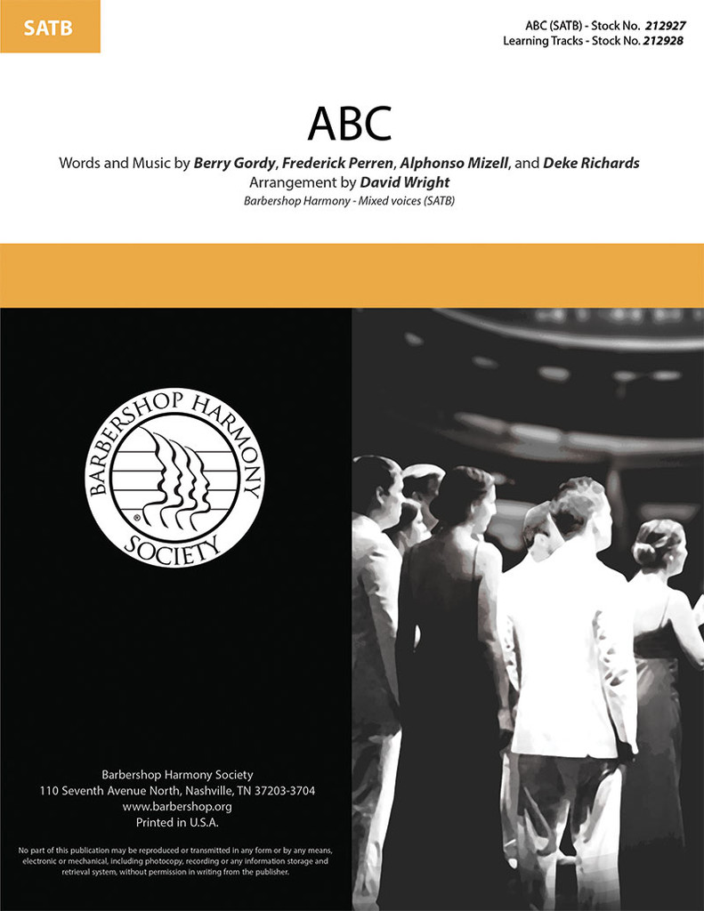 ABC (SATB) (arr. Wright)