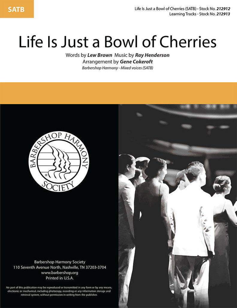 Life Is Just a Bowl of Cherries (SATB) (arr. Cokeroft)