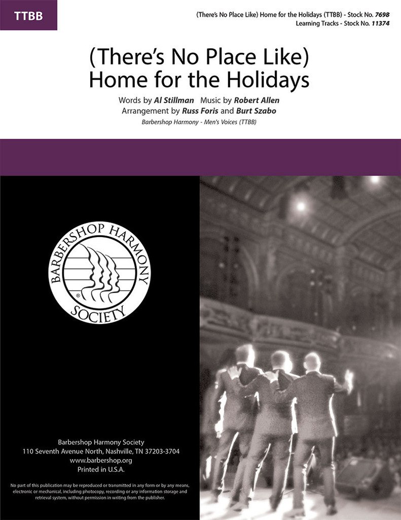 (There's No Place Like) Home for the Holidays (TTBB) (arr. Foris & Szabo)