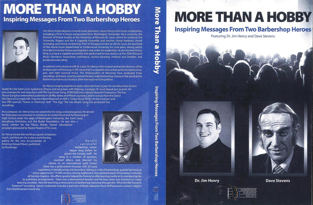 More Than a Hobby DVD Jim Henry and Dave Stevens