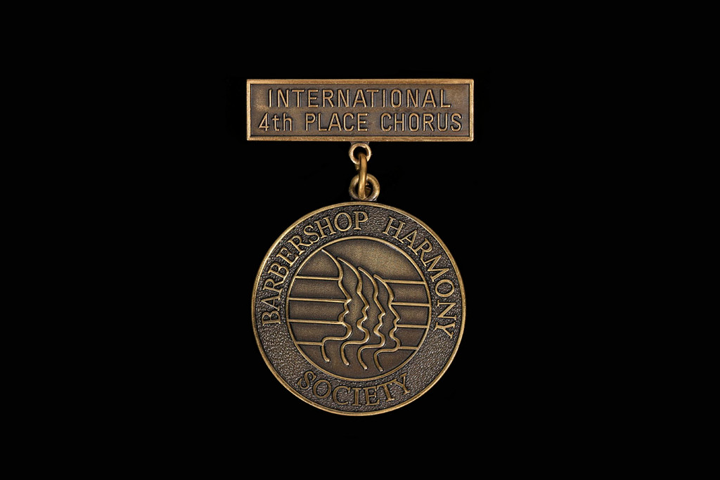 4th Place Chorus Medallion Pin
