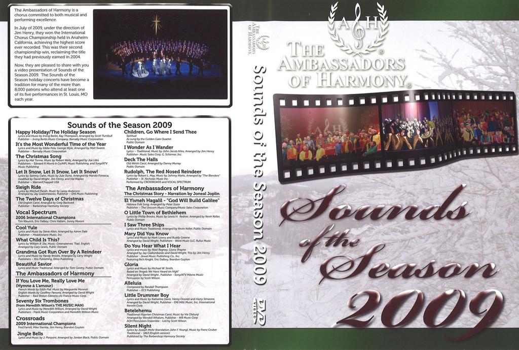 AOH Sounds of the Season 2009 DVD