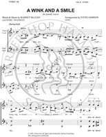 A Wink And A Smile (SSAA) (arr. Stephen Jamison)-Download-UNPUB