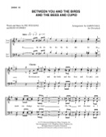 Between You And The Birds And The Bees And Cupid (TTBB) (arr. Aaron Dale)-UNPUB