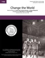 Change the World (TTBB) (arr. Sharon & Wright)