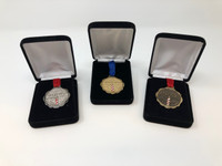 AIC Gold, Silver, and Bronze Replacement Medals