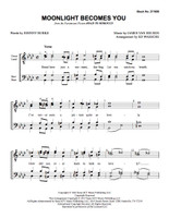 Moonlight Becomes You (TTBB) (arr. Waesche) - Download