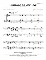 I Just Found out About Love (SSAA) (arr. Briner)