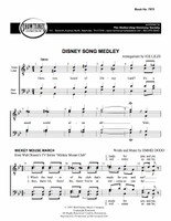 Disney Song Medley (TTBB) (arr. Liles) - Download