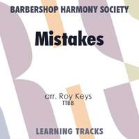 Mistakes (TTBB) (arr. Keys) - CD Learning Tracks for 7219
