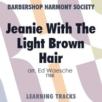 Jeanie With The Light Brown Hair (TTBB) (arr. Waesche) - CD Learning Tracks for 202769
