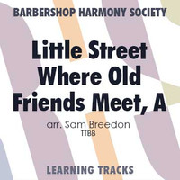 A Little Street Where Old Friends Meet (TTBB) (arr. Breedon) - CD Learning Tracks for 200108