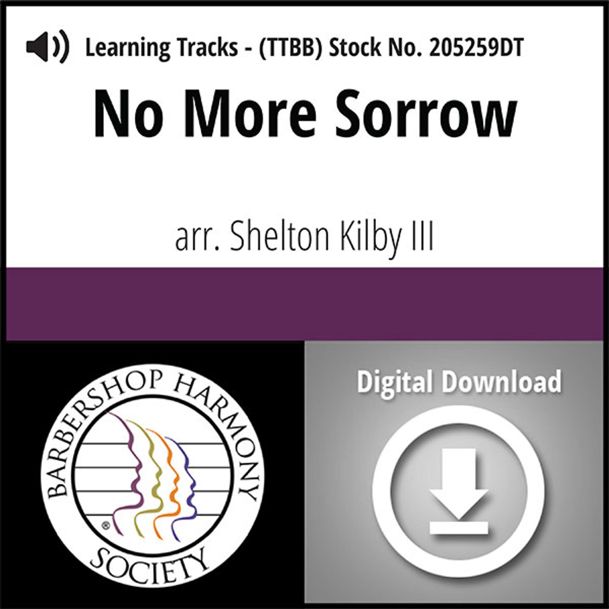 no more sorrow ttbb arr kirby iii digital learning tracks for