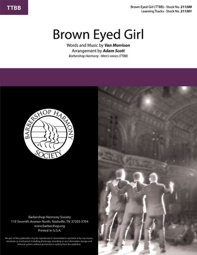 Brown Eyed Girl (TTBB) (arr. Scott)