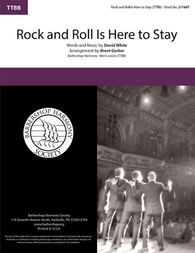 Rock and Roll Is Here to Stay (TTBB) (arr. Gerber)