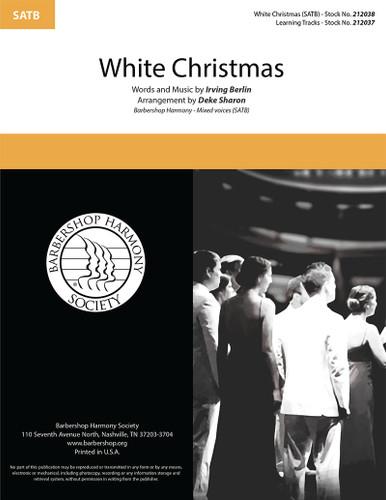 White Christmas (SATB) (arr. Sharon)