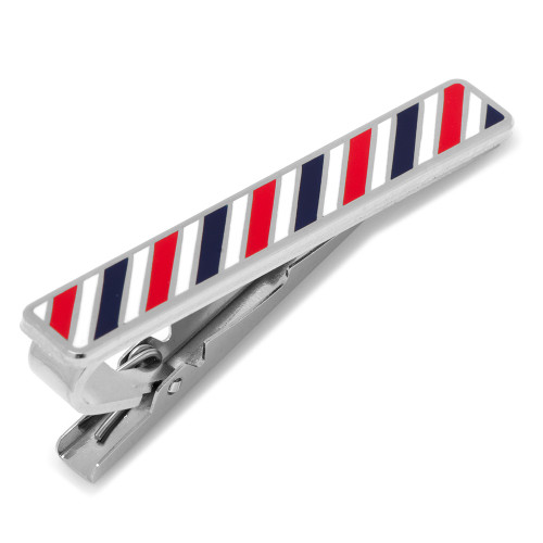Barberpole Tie Clip