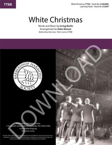 White Christmas (TTBB) (arr. Sharon) - Download