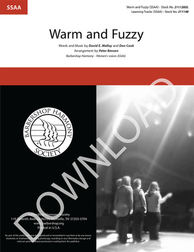 Warm and Fuzzy (SSAA) (arr. Benson) - Download