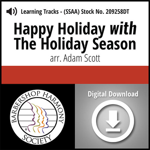 Happy Holiday with The Holiday Season (SSAA) (arr. Scott) - Digital Learning Tracks - for 212006