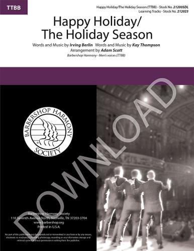 Happy Holiday/The Holiday Season (TTBB) (arr. Scott) - Download