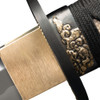 "CS88ABW, ""Damascus Gold Lion Wakizashi"", by Cold Steel Inc., Free Shipping, MSRP ($749.95)"