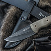 """KK0083, """"Stone Washed Finish"""", by Kizlyar Supreme Knives, Free Shipping, MSRP ($132.00), Kid 440C Steel"""