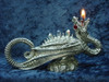 Large Dragon Oil Lamp
