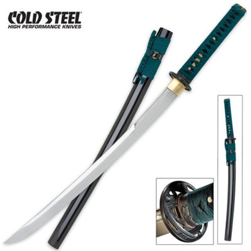 "CS88DW, ""Dragonfly Wakizashi"", by Cold Steel Inc., Free Shipping, MSRP ( $674.95), 1060 Steel"