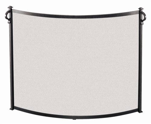 """18296, """"Bowed fireplace screen"""", by Pilgrim Home And Hearth, Free Shipping, MSRP ($329.00), vintage iron finish"""