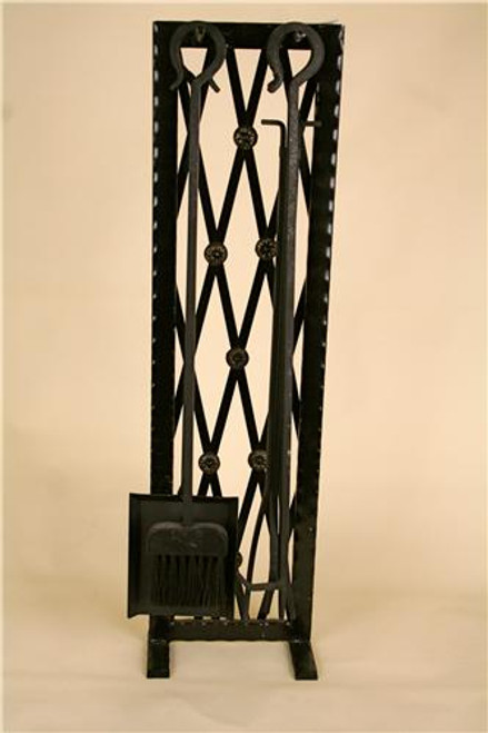 "RT018, ""Lattice Hand Crafted"", by RahTec, Free Shipping, MSRP ($500.00), 5 pcs. Painted Steel Toolset"