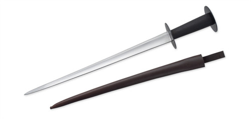 "SB3964, ""Rondel Dagger - 15th Century"", by Get Dressed For Battle (GDFB), Free Shipping, MSRP ($105.00), 1075 Tempered Steel Blade"