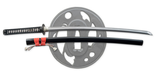 "SD35180, ""Kohaku Katana"", by Dragon King Swords, Free Shipping, MSRP ($879.00) Forged T10 Blade"
