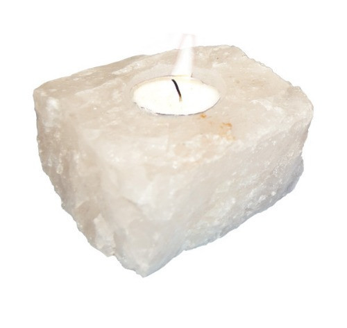 "TLWQ, ""Quartz Candle Holder"", by Nature's Expression, Free Shipping, MSRP ($31.50)"