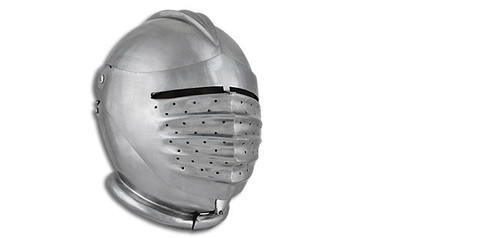 "AB1364, ""Large 16G Maximillian Helm"", by SAY, Free Shipping, MSRP ($179.00)"