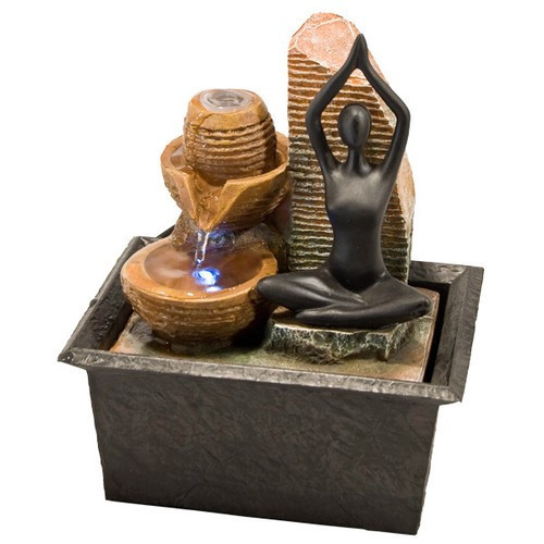 "FTYG, ""Yoga Light Fountain"", by Nature's Expression, Free Shipping, MSRP ($60.00)"