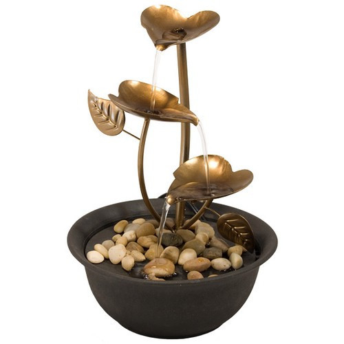 "FTCL, ""Copper Leaves Fountain"", by Nature's Expression, Free Shipping, MSRP ($75.00)"