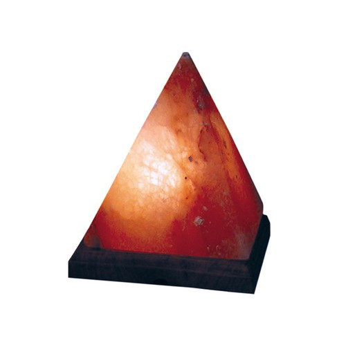 "STLPD, ""Himalayan Salt Pyramid Lamp"", by Nature's Expression, Free Shipping, MSRP ($63.00)"