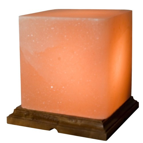 "STLCB, ""Himalayan Salt Square Lamp"", by Nature's Expression, Free Shipping, MSRP ($72.00)"