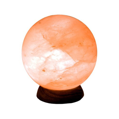 "STLFS, ""Himalayan Salt Sphere Lamp"",  by Nature's Expression, Free Shipping,  MSRP ($72.00)"