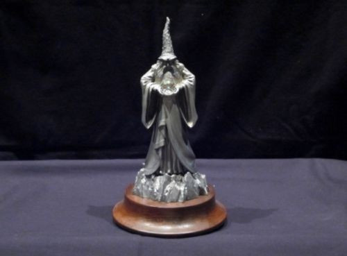 "LE03, ""Magic Master"", by Perth Pewter, Free Shipping, MSRP ($300.00), Limited Edition Pewter Figurine"