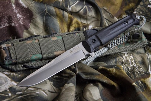 "KK0004, ""Alpha D2 Steel"", by Kizlyar Supreme Knives, Free Shipping, MSRP ($174.95),  With Satin Finish"
