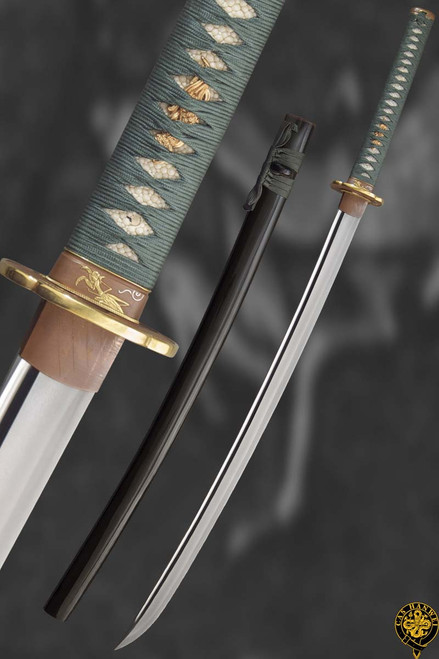 "SH2359, ""Praying Mantis Katana"", by Hanwei Forge, Free Shipping, MSRP ($1,900.00), Clay Tempered Steel"