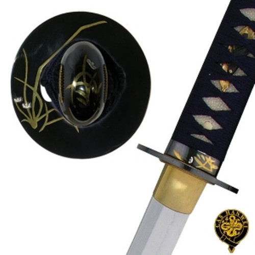 "SH1207, ""Orchid Katana"", by Hanwei Forge, Free Shipping, MSRP ($1,300.00),  Fully Hand Forged And Folded Steel"