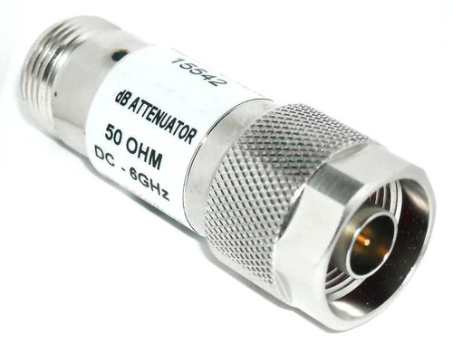 6 dB - Type N Fixed Coaxial Attenuator