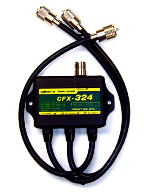Comet CFX-324A - 2M 220 MHz 70 cm Ham Radio Triplexer