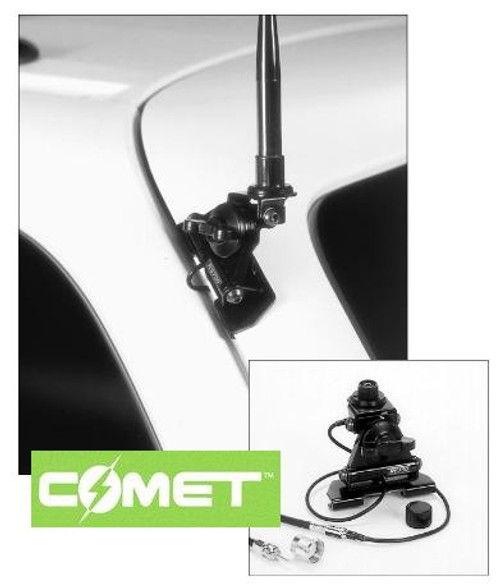 Comet Cp 5m Popular Universal Mobile Ham Radio Antenna