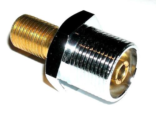 "OPEK SM-0 - SO-239 to 3/8"" x 24 Thread Stud Antenna Mount Adapter"