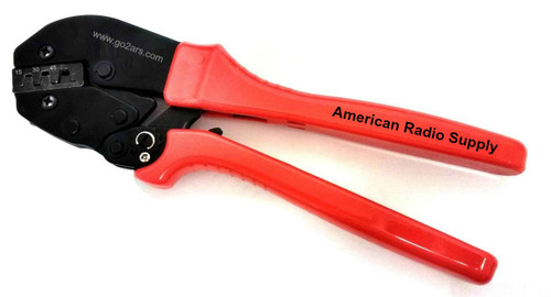 Ratchet Crimping Tool for DC Pwr Plug Connectors