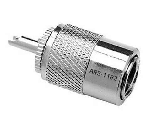 PL-259 UHF-Male Silver Teflon Coaxial Connector for LMR-400
